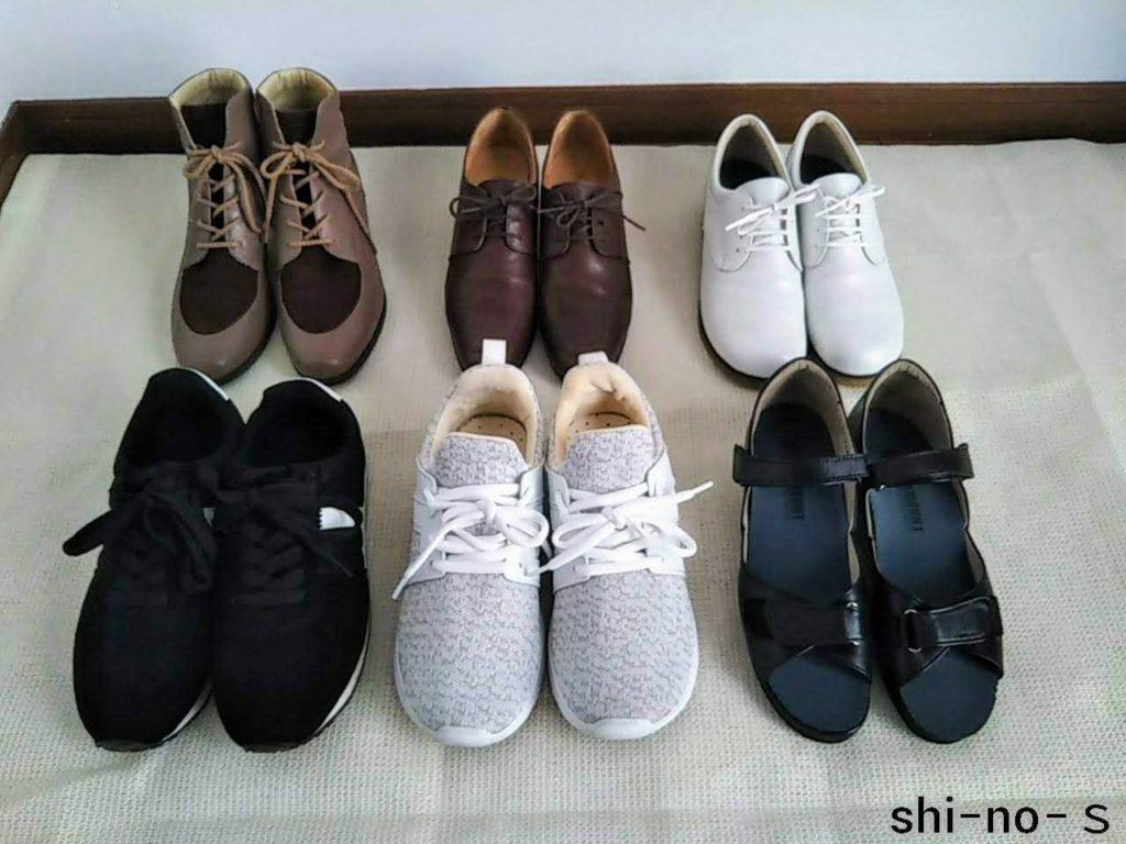 靴の断活】数が10足から6足へ。残した靴、捨てた靴を紹介します