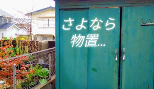 【不用品回収】庭に放置された物置の解体処分! かかった費用と注意点